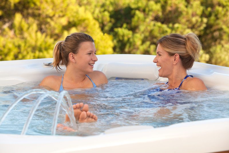 A hot tub for the new year can be a great way to draw your teenager into a conversation.
