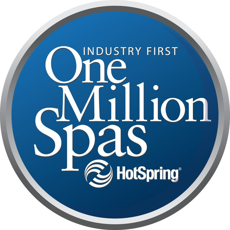 Hot Spring has sold over one million spas.