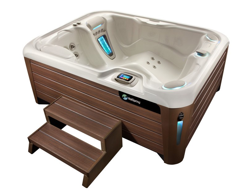 The Highlife Jetsetter NXT is the best hot tub for small urban decks or balconies.