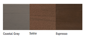 Cabinet color options for the 2018 Limelight Collection