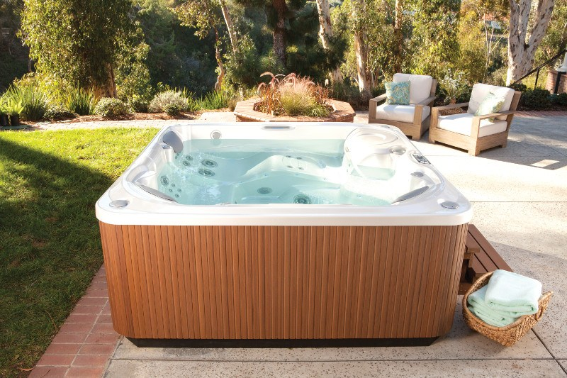 What's the best place in your backyard for a hot tub?
