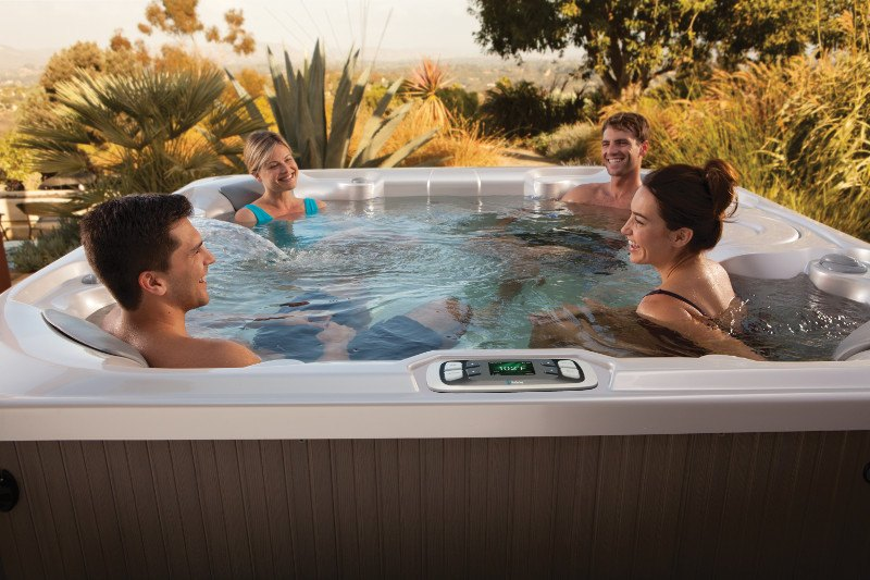Reputable dealerships help with hot tub maintenance and service.