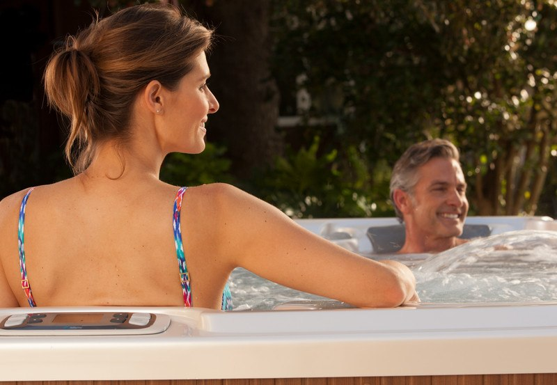 Happiness is getting a deal on a Hot Spring Limelight® Flair.