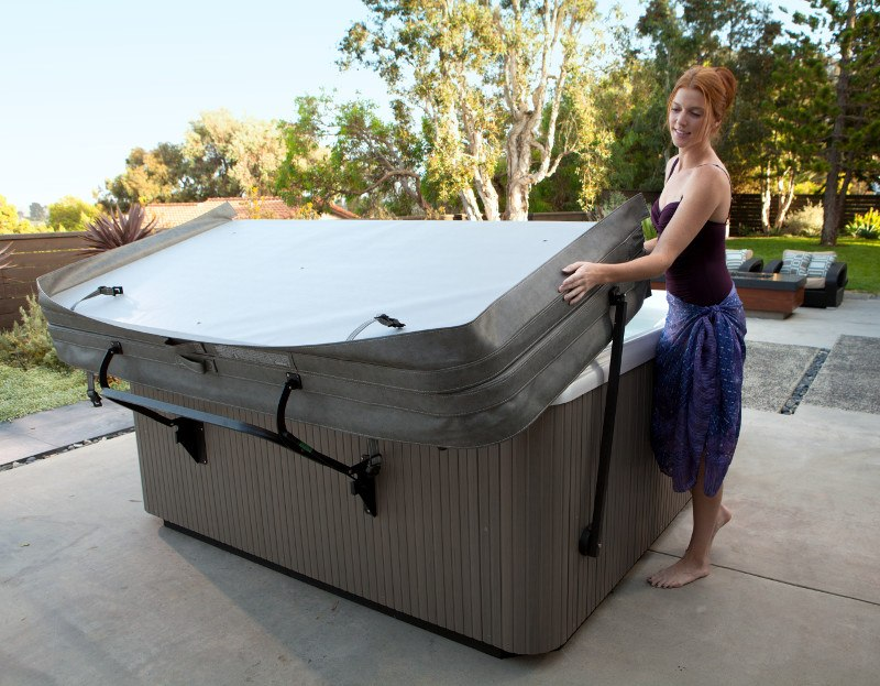 Hot tub covers protect your spa's shell.