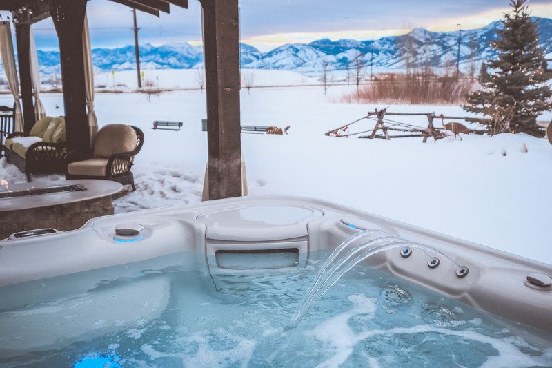Hot tubs are particularly enticing to skiers and winter vacationers.