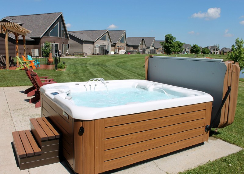 A hot tub on your rental property can set you apart from other rental properties.