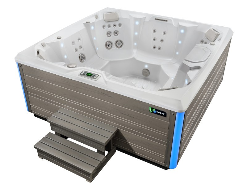 Once your hot tub is empty, it's time to clean the shell.