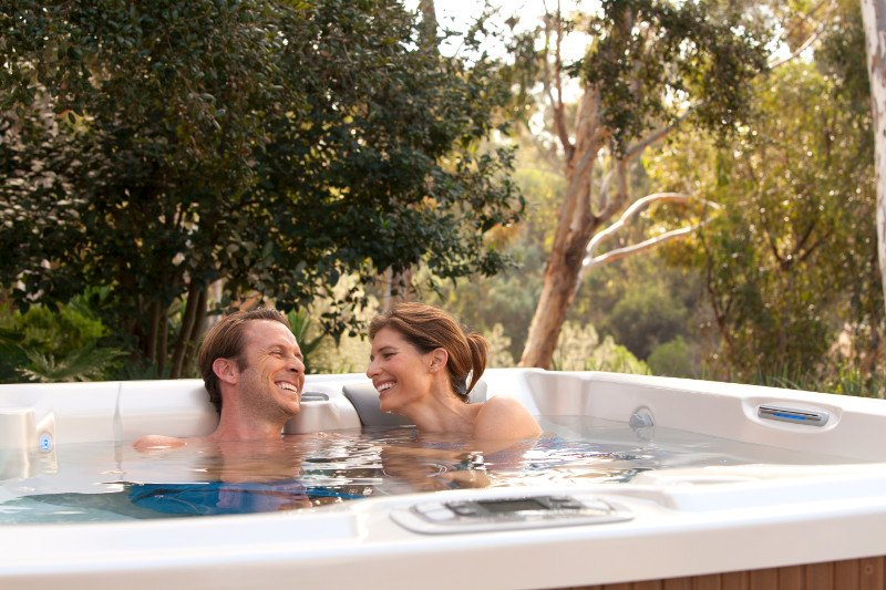 Soaking in a hot tub is a great way to connect with and benefit from nature.