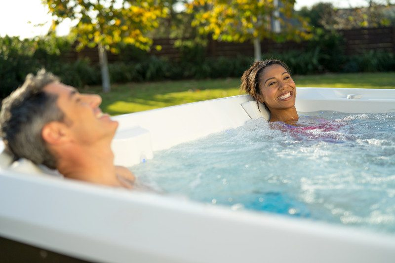 Nothing beats unwinding in a spa and getting hydrotherapy hot tub benefits.